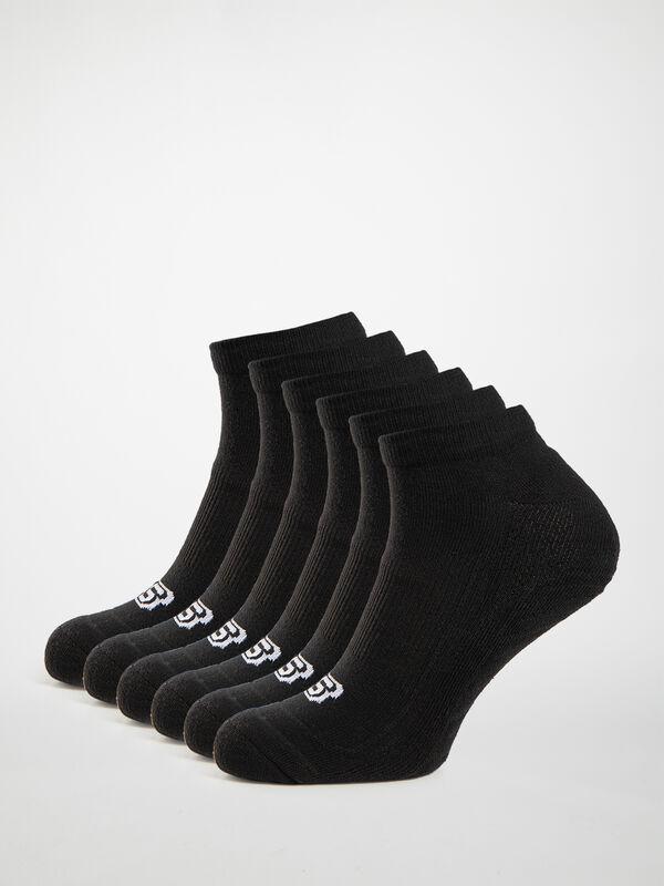 Lot de 6 paires de socquettes basses