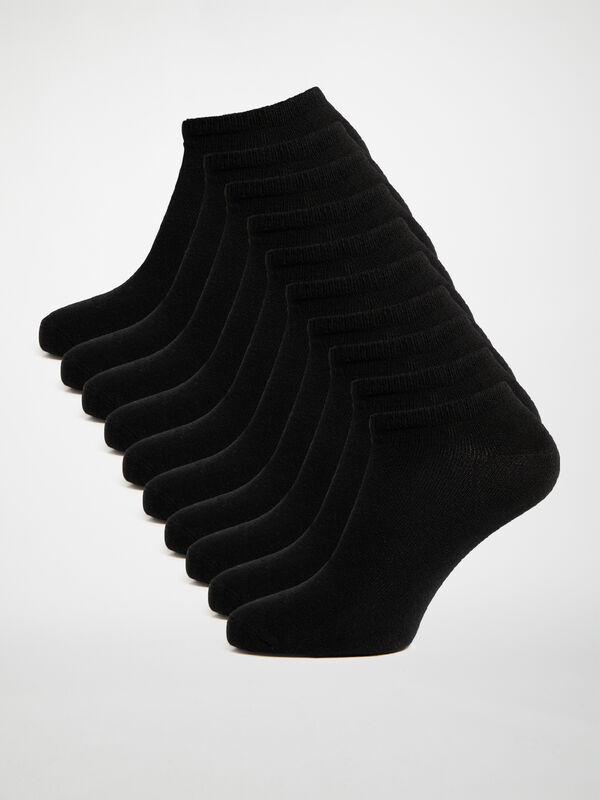 Lot de 10 paires de socquettes basses