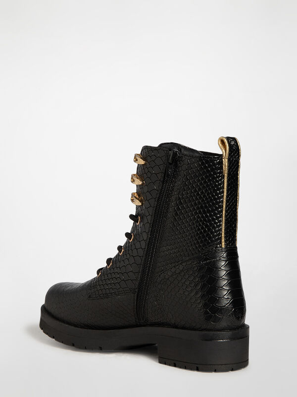 Bottines à lacets