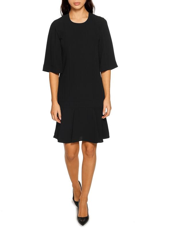 Calvin Klein Smooth Twill Dress schwarz | Dress-for-less