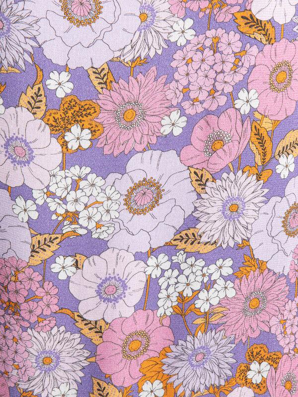 Rich & Royal Kleid mit Rüschen lila/mauve/pink   Dress-for ...