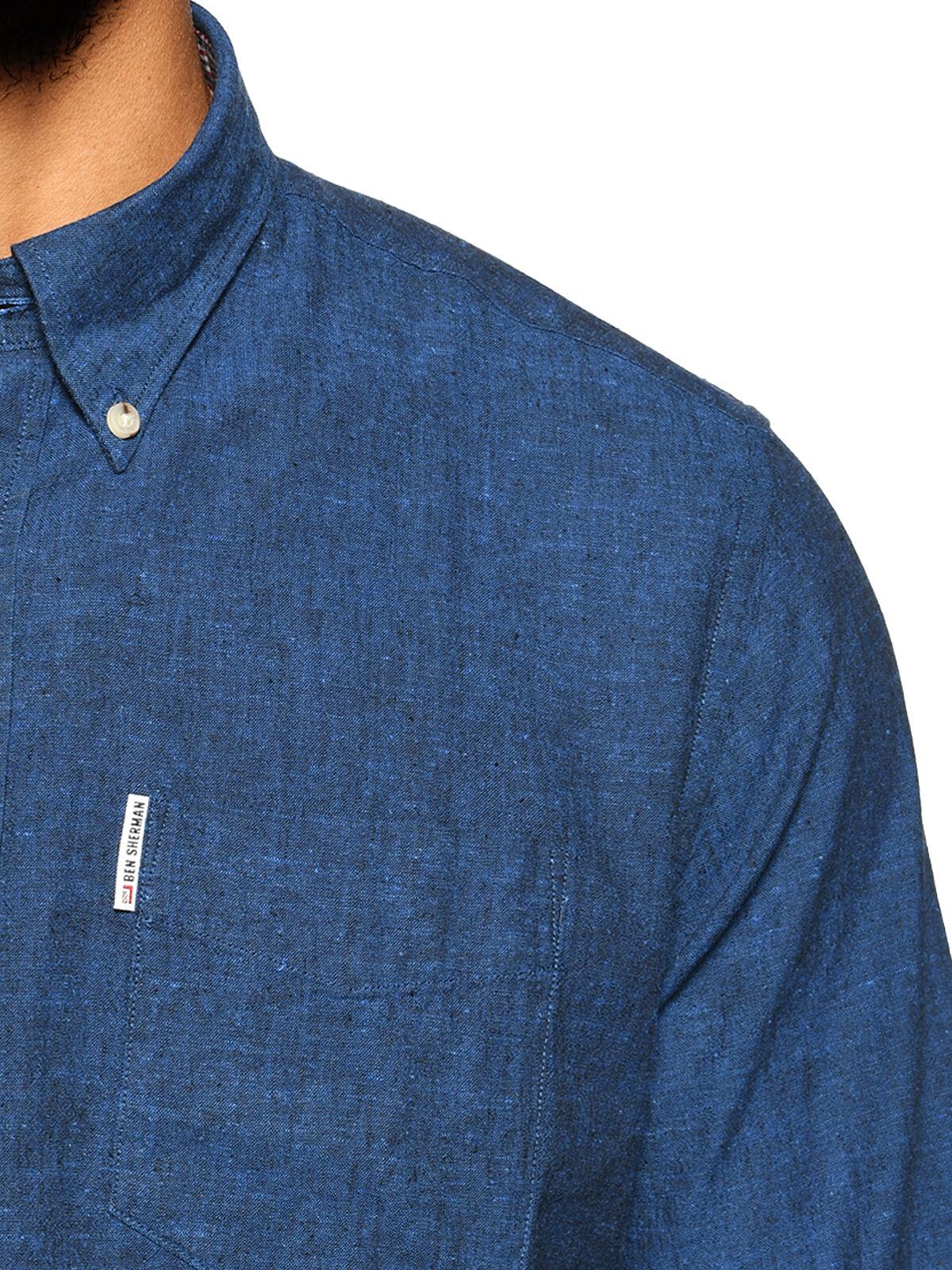 Hemd Regular Fit mit Leinen