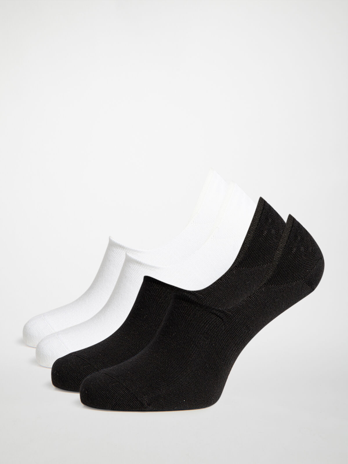 4-Pack of No-Show Socks