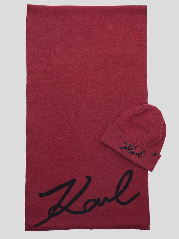 Coffret bonnet + écharpe